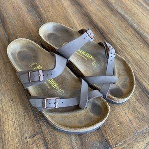 Birkenstock Mayari crisscrossed sandals #6395